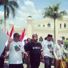 Kirab Bendera di Istana Siak, Kerabat Kesultanan Akan Tuntut GP Ansor