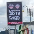 Spanduk Atau Billboard Raksasa KPN-GP Terpasang di Aceh Tengah