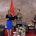 Melinda Gates Foundation Temui Presiden Jokowi di Bali