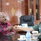 Gubernur Papua Ajak Pangdam Cenderawasih Melakukan Salam Kumbi