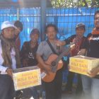Komunitas Seniman KSJSAN Lakukan Aksi Peduli Bencana Banten