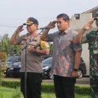 Polresta Kediri Apel Gelar Pasukan Dalam Rangka Operasi Mantap Brata