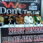 Eggi Sudjana: We Dont Trust KPU Tidak Bertentangan Dengan Hukum