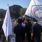 Aksi Bela Rakyat Gorut Geruduk Istana Negara dan Kantor Toba Bara Sejahtera