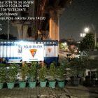 Kopral Kepala TNI AL Ini Percantik Pos di Perempatan Mambo