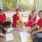 Cegah Stunting, Posyandu Desa Bukit Batu Suluh dan Periksa Ibu Hamil