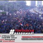 Meski Dilarang, BEM SI Ngotot Akan Demo Perppu KPK Siang Ini