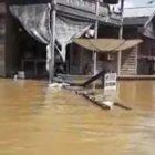 Ratusan Buah Rumah di Mandau Talawang Terendam Air