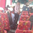 Aksi Mahasiswa di Senayan Turunkan Omset Bus Lintas Jakarta Merak