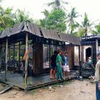 Rumah di Desa Tamban Luar Ludes Jadi Arang