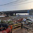 Lahan Kosong Tol Becakayu Dijadikan Tempat Sampah