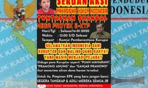 Ismahi Jakarta: Sedang Berkuasa, KPK Tak Berani Periksa Puan, Ganjar dan Pramono Soal Skandal Mega Proyek E-KTP?