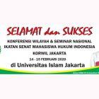 FH UNUSIA Siap Ikuti Konferwil Ismahi Jakarta