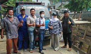 Anggota DPRD DKI Jakarta Neneng Hasanah Kunjungi Pembagunan Turap