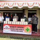 DPD Garuda Sakti Lembaga Aliansi Indonesia Jabar Sumbangkan Sembako ke Masyarakat Cisarua