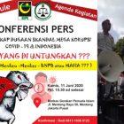 LBH PP GPI: UU No 2 Tahun 2020 Munculkan Dugaan Korupsi Covid-19?