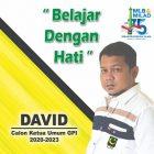 David Pemuda Minang Maju Jadi Ketua Umum PP GPI
