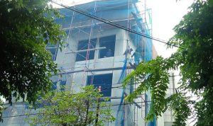 Bangunan Tak Ber-IMB di Kelapa Gading, Belum Lama Dibongkar Sudah Dibangun Kembali
