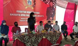 Anggota DPRD DKI Fraksi Gerindra Serap Aspirasi Warga Semper Barat