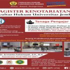 Keunggulan Magister Kenotariatan Fakultas Hukum Universitas Jember